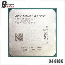 AMD Athlon X4 870 K X4 870 K X4 870 3.9 GHz 쿼드 코어 CPU 프로세서 AD870KXBI44JC 소켓 FM2 +