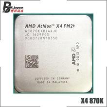 AMD Athlon X4 870 K X4 870 K X4 870 3.9 GHz Quad Core Bộ Vi Xử Lý AD870KXBI44JC Ổ Cắm FM2 +