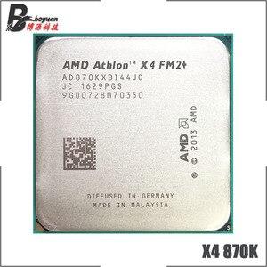 AMD Athlon X4 870K X4 870 K X4 870 3.9 GHz Quad-Core CPU Processor AD870KXBI44JC Socket FM2+