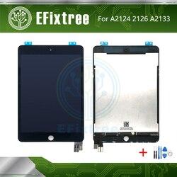 Оригинальный Новый ЖК-дисплей, сенсорный экран в сборе, Замена для iPad Mini 5, A2124, A2126, A2133, ЖК-панель, дигитайзер, черный, белый цвет