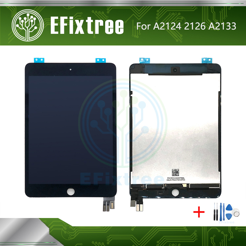Original New LCD Display Touch Screen Assembly Replacement For iPad Mini 5 A2124 A2126  A2133 LCD Panel Digitizer Black White