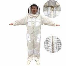 1 conjunto de traje de apicultura, roupa profissional para limpeza de abelha, terno de mosquito, abelhas respirável, roupa anti apicultura