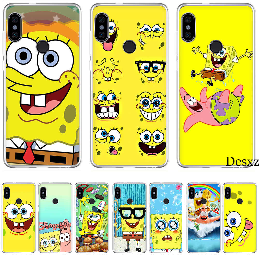 Tampa da Caixa do telefone Best Friends Forever BFF 4 Spongebob Para Xiao mi mi mi Vermelho 5 6 8 4X 5A nota Pro S2 F1 Lite Se mi x