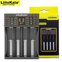 Liitokala-cargador de batería Lii-402 18650, 18650, 1,2 V, 3,7 V, 3,2 V, AA/AAA, 26650, 10440, 16340, NiMH, cargador de batería de litio