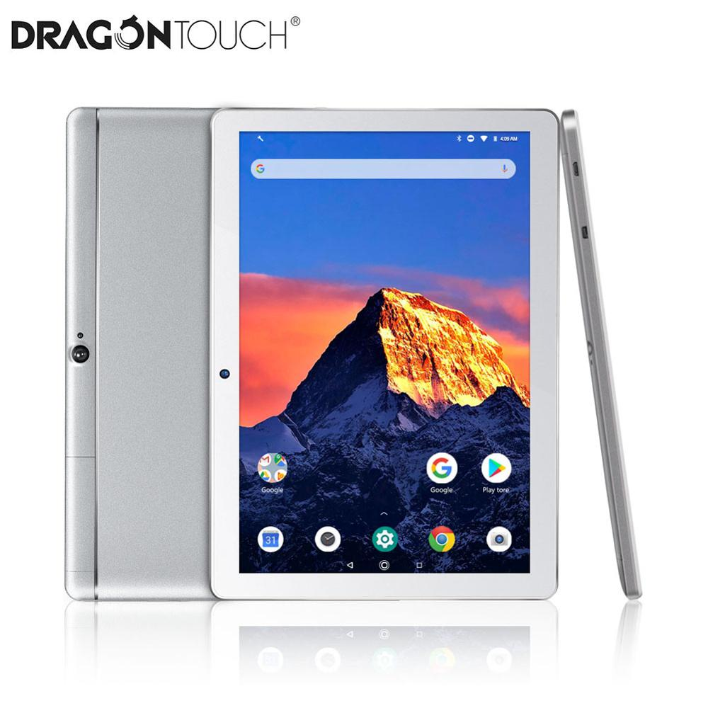 2019 New DragonTouch K10 10.1 Inc 16GB Quad Core Tablet With Android 8.1,1280x800 IPS Display, Bluetooth, Mini HDMI Tablet PC
