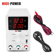 Nice-Power-fuente de alimentación conmutada Digital, fuente de alimentación CC de 30V, 10A, 60V, 5A, reguladores de voltaje, herramienta de reparación de laboratorio, fuente de alimentación ajustable