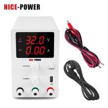 Цифровой импульсный источник питания постоянного тока Nice Power 30 в 10 А 60 в 5 А регуляторы напряжения лабораторный ремонтный инструмент Регулируемый источник питания