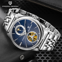 Stainless Steel Strap Watch For Men PAGANI DESIGN Fashion & Casual Automatic Male Watch 2020 New Simple Men Watch reloj hombre