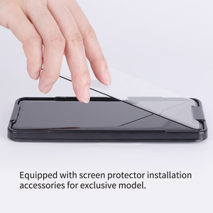 Image 5 - Nillkin 3D DS+ Max Tempered Glass For Oneplus 8 Pro Full Screen Cover Curved Protective oleophobic