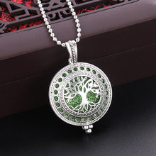 10 styles of tree of life necklace pendant bracelet bracelet car diffuser essential oil diffuser aroma emitting matching gift(China)