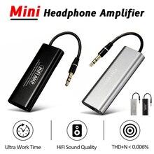 LEORY SD05 מקצועי נייד מיני 3.5mm HiFi אוזניות מגבר אודיו ממשק אוזניות AMP עבור טלפונים ניידים
