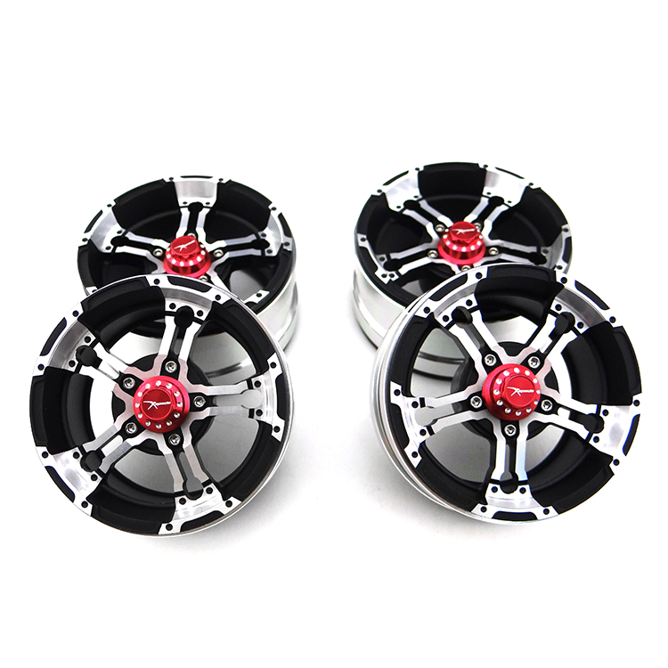 X Spede Scale look wheel aluminum wheel for 1.9 in truck tire and 12 mm hex drive car or truck