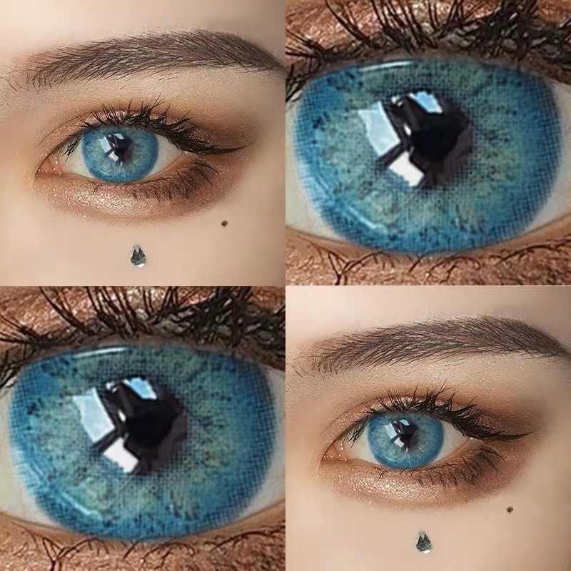 KSSEYE 1 para RussianGirl Taylor DNA kolorowe soczewki kontaktowe kontakty kosmetyczne naturalne kolorowe szkła