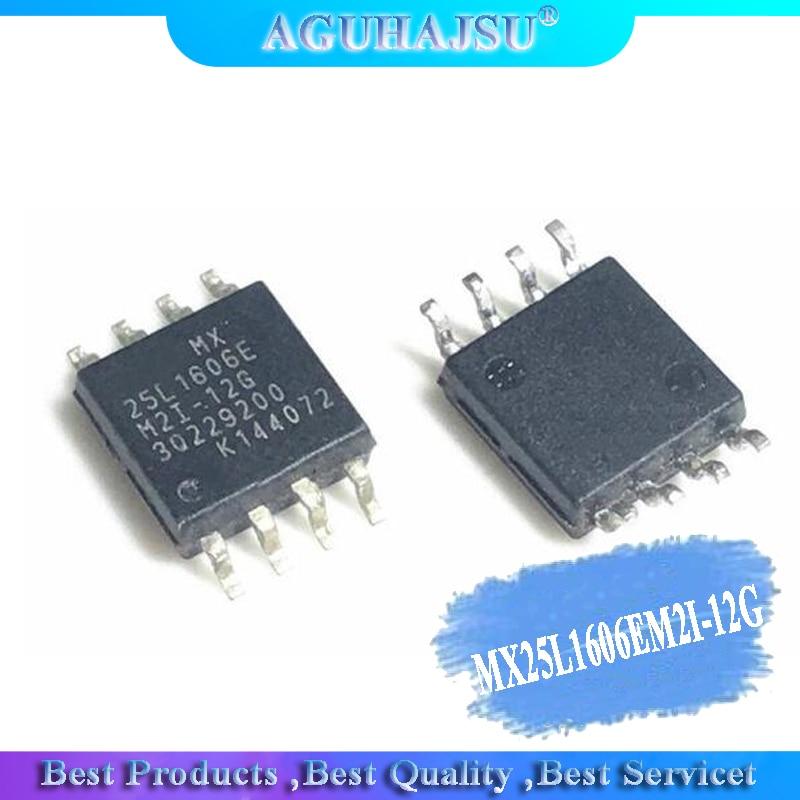 5PCS MX25L1606EM2I-12G MX25L1606EM2I MX25L1606 SOP8