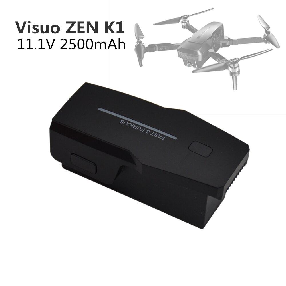 11.1V 2500mAh Lipo batterie pour Visuo ZEN K1 4K grand Angle HD double caméra 5G Wifi FPV GPS RC Drone quadrirotor batterie pièces de rechange