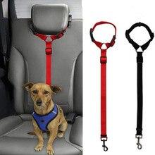 Dog Stuff Practical Dog Cat Lead Harness Strap Dog Stroller Travel Seat Clip Cat Carrier Leash Belt Pet Car Safety Adjustable