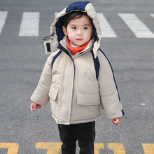 Baby Boys Jackets Autumn Winter Kids Warm Removable Hoodies Jacket Children Outerwear girl Coat Boys Girls Clothes 2 3 4 5 6 8Y best selling baby outerwear for spring autumn retail children s coat boys hoodies jackets kids cartoon clothes
