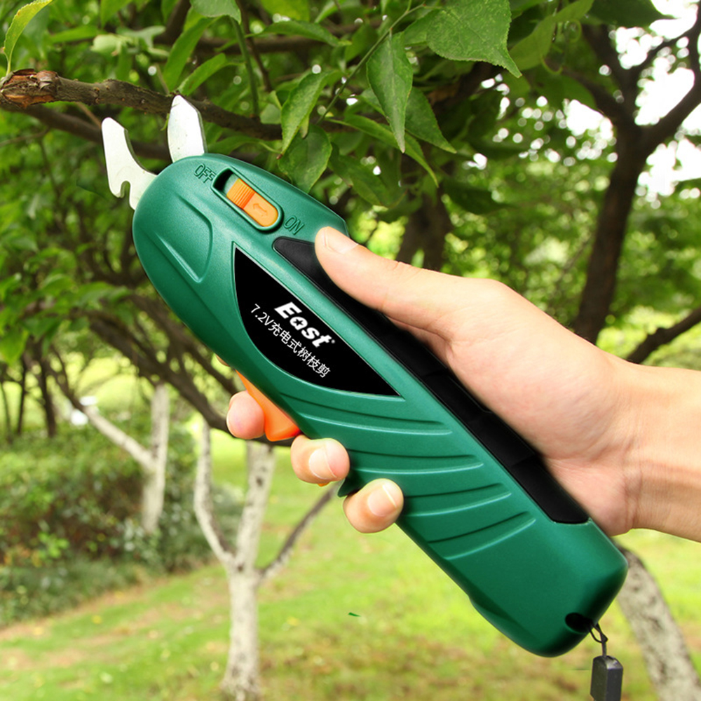 Pruner Shears Branch Lithium Ion Pruning Tools Gardening Pruning  Scissors Trimmer Secateurs Rechargeable Electric