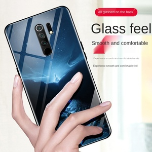 Image 5 - الفاخرة درع الزجاج للصدمات الهاتف حالة ل Xiaomi Redmi 9A 9 ملاحظة 7 8 6 برو ماكس 9T A3 10 لايت الوفير عودة مضيئة حالة غطاء