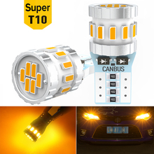 2x LED Bulb Parking Interior Lights T10 W5W For Skoda Octavia Rapid Fabia Yeti a5 a7 Kodiaq Accessories 12V Car LED Auto Lamp