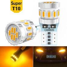 2x LED ampoule Parking intérieur lumières T10 W5W pour Skoda Octavia Rapid Fabia Yeti a5 a7 Kodiaq accessoires 12V voiture LED Auto lampe