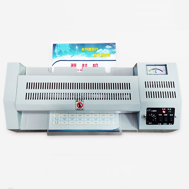 A2 Photo Laminator Professional Thermal Office Home Hot Cold Film Laminating Document Photo Film Roll Laminator