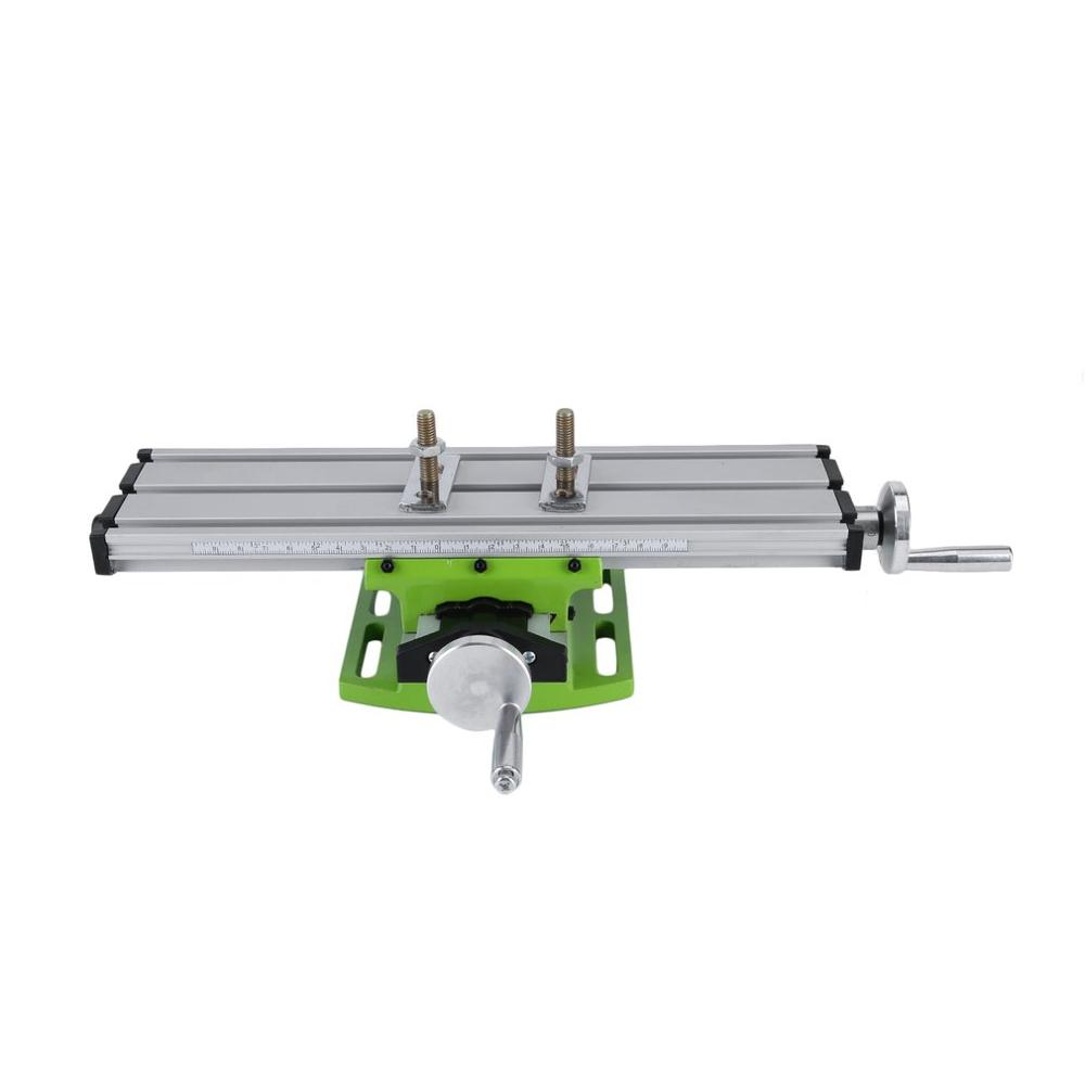 High Precision 310 * 90mm Work Table Working Cross Vise Worktable Milling Compound Bench For Milling Machine Vise