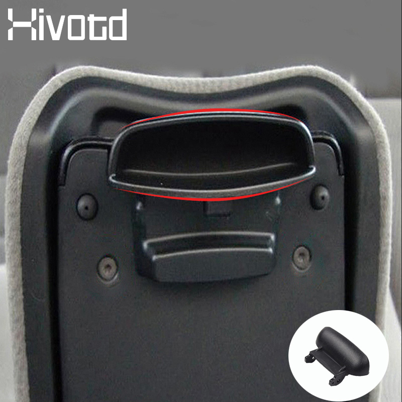 Hivotd For Honda Civic Car Accessories Central Armrest Box Buckle Cover Trim Switch Snaps Plastic Lock button Interior 2007-2013(China)