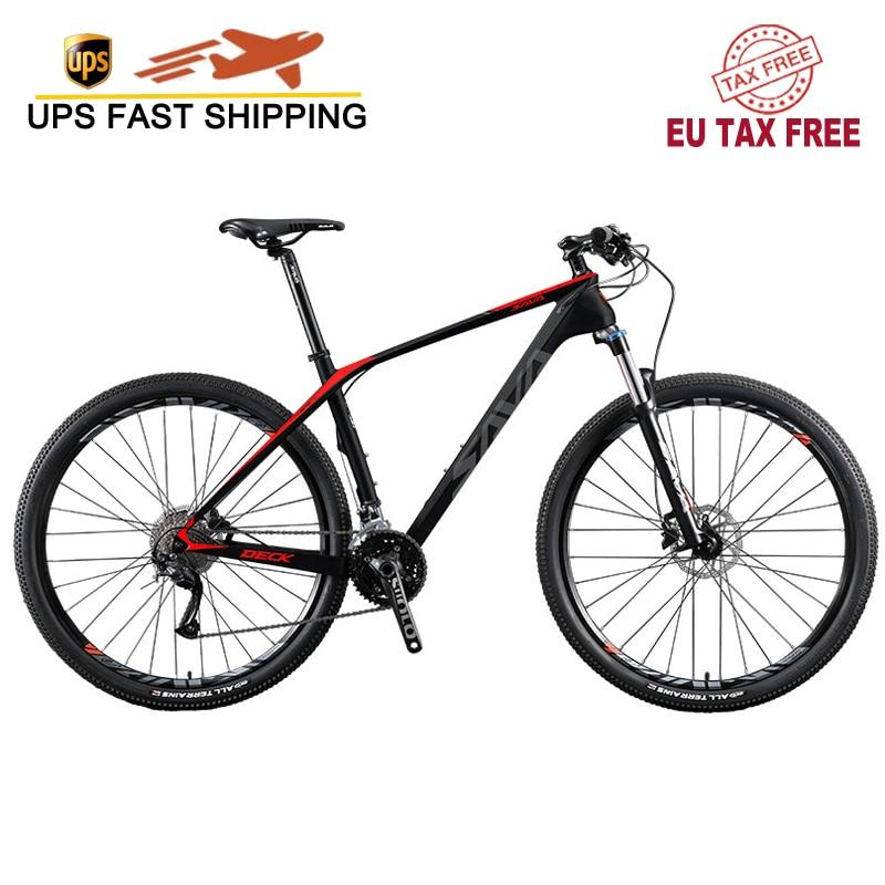 SAVA-bicicleta de Montaña de carbono para hombre, 29 mtb DECK2.0, 29