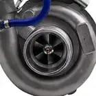T04E T3 T4. 63 A/R турбо зарядное устройство ж/коллектор для BMW E36 E46 323I 1997 1999 + турбо brased подачи масла Inlien Line Kit - 4