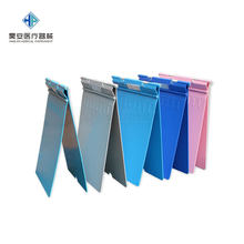 Medical Use ABS Thick bing li jia Plastic Case Clip A4 Medical Records Hospital Stainless Steel Case Cabinet Folder Cabinet(China)