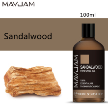 MAYJAM Sandalwood Diffuser Aroma Oil 100ML Pure Essential Oils Aromatherapy Diffusers Help Sleeping and Smoothes Emotions