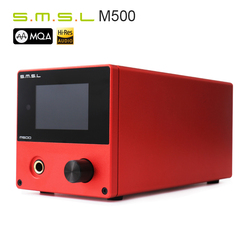 SMSL M500 ES9038PRO USB DSD DOP DAC Support MQA Headphone Amplifier With Remote Control