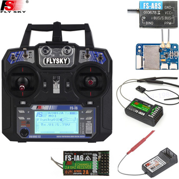 FlySky FS-i6 2.4G 6CH AFHDS RC Transmitter With FS-iA6 FS-iA6B Receiver for Airplane Heli UAV Multicopter Drone frsky accst taranis q x7 qx7 2 4ghz 16ch transmitter without receiver and battery mode 2 for rc multicopter