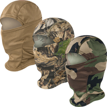 Tactical Military Balaclava Hat Cap Full Face Mask Camouflage Cycling Ski Bike Snowboard Sports Face Cover for Hiking Camping