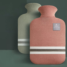 Water-filling Hot-water Bag for Female Warm Belly Hands and Feet Cute Warm Water Bag Keep on Hand Warmer Hot Water Bottle Bag