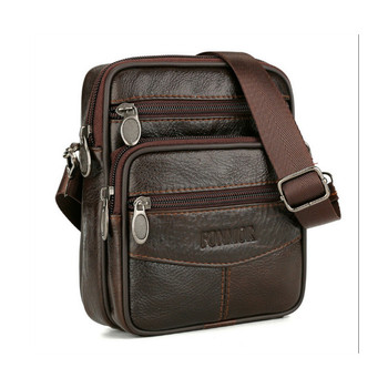 Fashion 2019 Faux Leather Messenger Bag Men's Shoulder Bags Flap Small Crossbody bags for Men