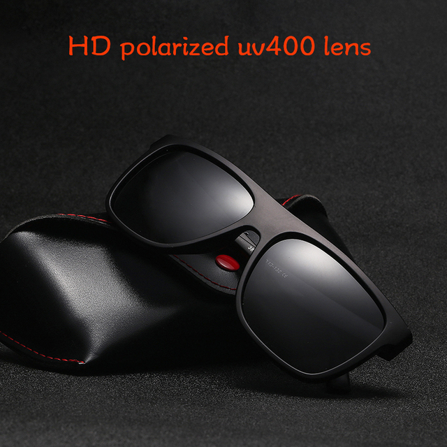 Γυαλιά ηλίου με πολωτικούς φακούς με μεγάλο σκελετό και προστασία uv400