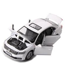 1/32 Ölçekli Simülasyon Volkswagen Passat Klasik Araba alaşım kalıp Döküm Modeli Ses ve Işık Geri Çekin Oyuncak Araba çocuk Oyuncakları