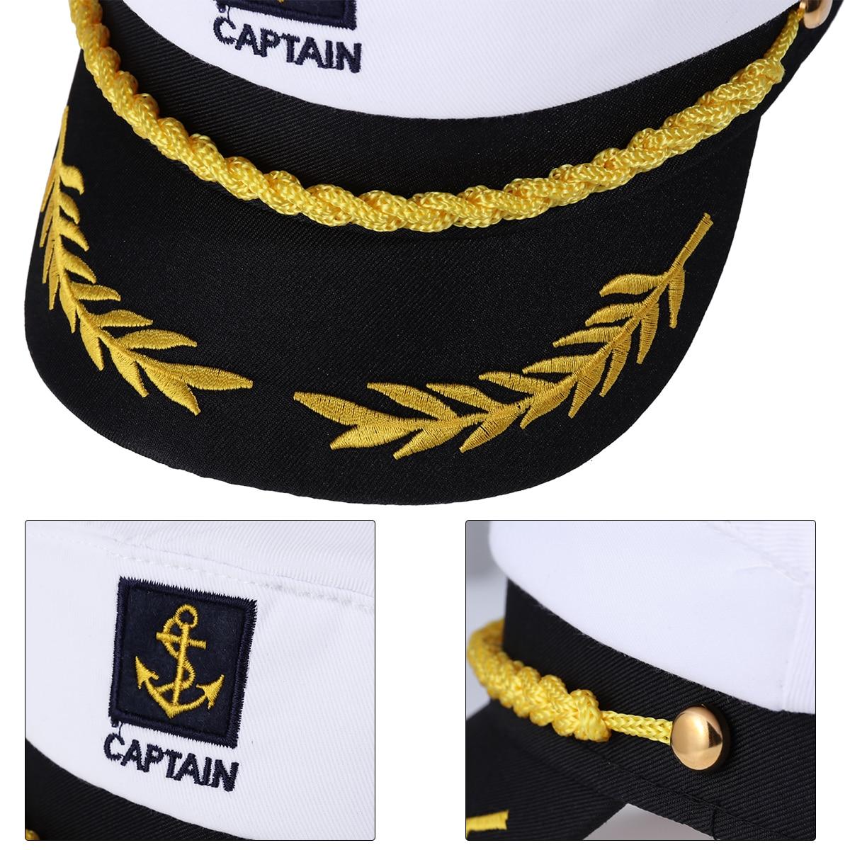 Military Hat Anchor Boat Sailor Sport Cap Army Cadet Men Women Casual BASEBALL