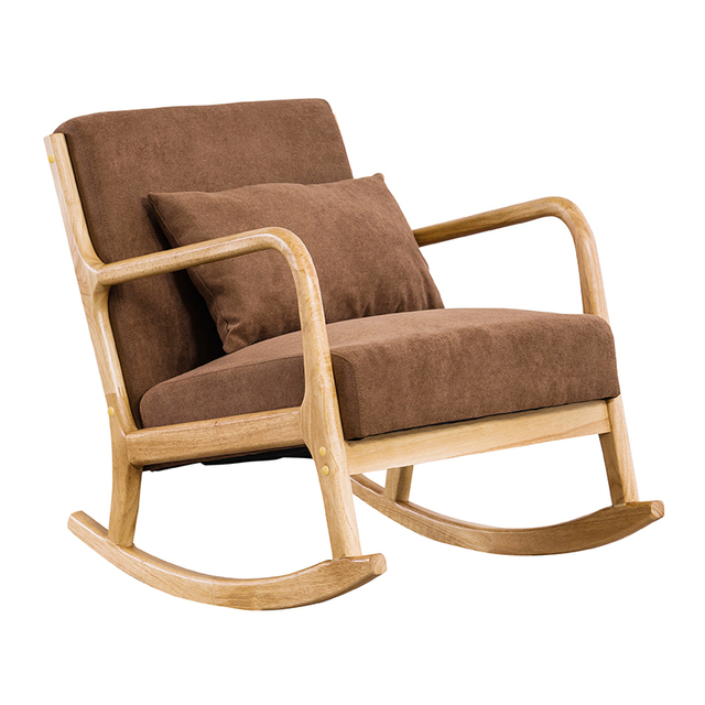 Hardwood Rocking Armchair  6