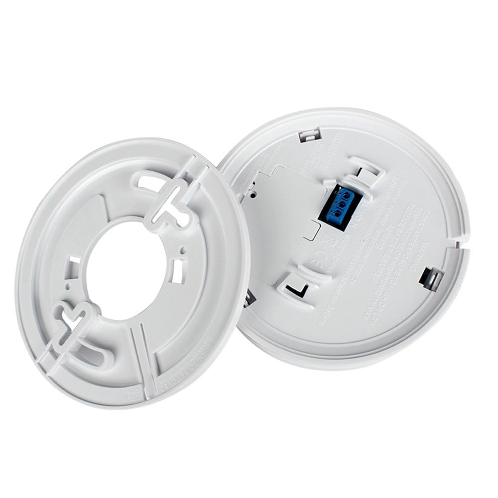 High Sensitive Wireless Smoke Carbon Monoxide Composite Alarm Independent Alarm Smoke Detector Photoelectronic Smoke Alarm