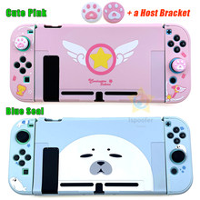 NEW For Joycon Shell Cute Color Protective Case Joy Con Controller Hard Cover Shell Case For Nintend Switch Game Console