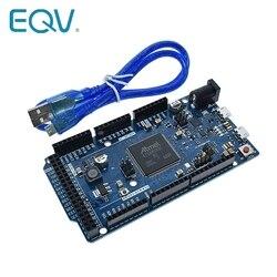 Плата DUE R3 AT91SAM3X8E SAM3X8E, 32-битный Модуль платы управления лампами для Arduino, макетная плата