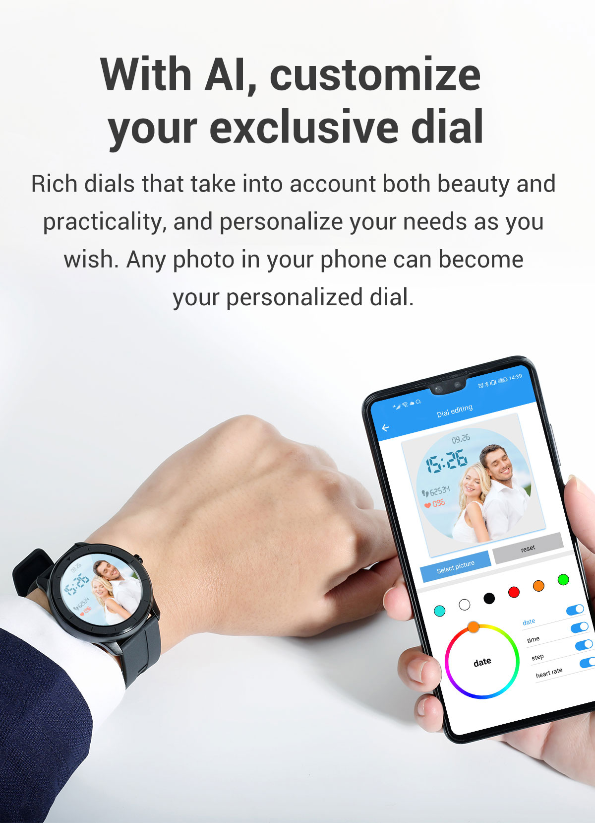 H7cff77842f3d41f2be7e5a95048a0c52c LEMFO Full Touch Screen Smart Watch Waterproof Smartwatch Men