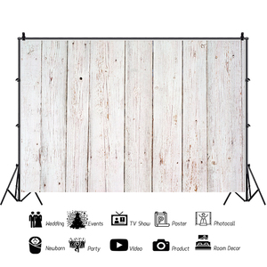 Image 3 - Laeacco White Wooden Board Texture Photography Backdrop Vinyl Photo Background Baby Shower Photocall For Photo Studio Photophone