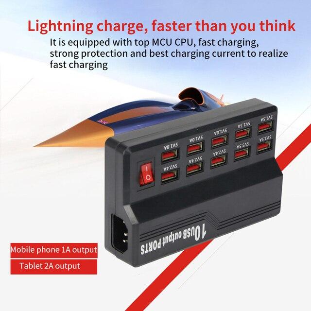 Купить зарядное устройство с портом usb 10/12 быстрая зарядная станция картинки цена