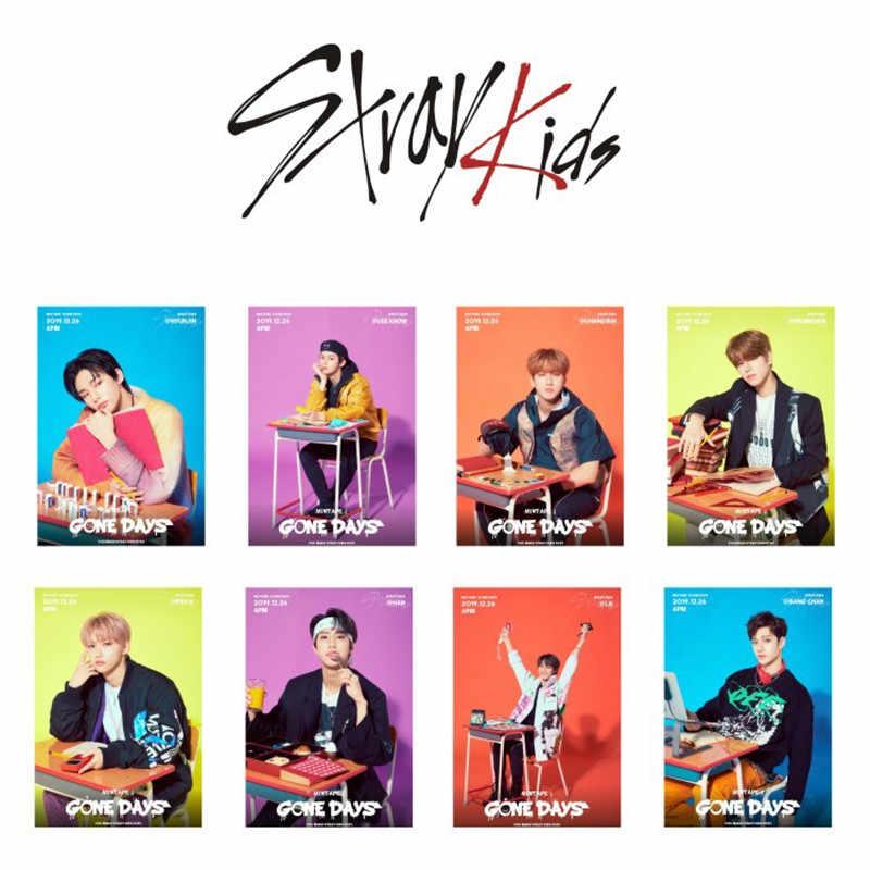 8 Cái/bộ Đi Lạc Trẻ Em Album Mới Levanter Miroh Lomo Card Thẻ Hình Ảnh Bằng Chân Kim Woo Jin Lee Min Ho SEO Chang Thùng Jh82