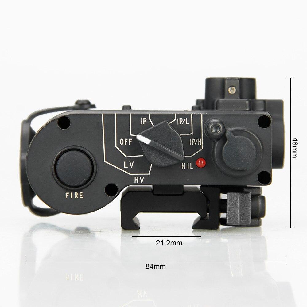 laser vermelho com led ir iluminador classe 1 hk15 0088 05
