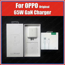 Original OPPO 65W Gan Super VOOC Charger Find Apply to OPPO Find X2 Pro Reno ace 3 Reno 4 Pro 2z 2f 10x zoom Find x a5 a9 2020